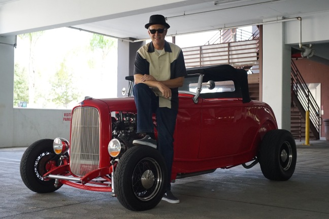 32 Roadster and John