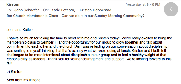 Kirsten Thank You